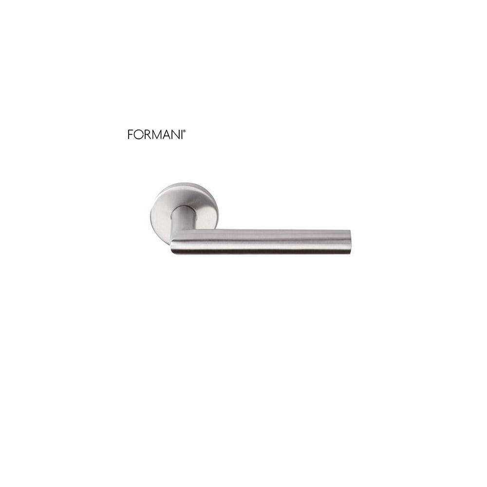 Formani BASIC LBII-19 deurkruk op ronde rozet RVS