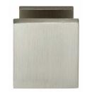 Voordeurknop vierkant 65-55mm nikkel mat