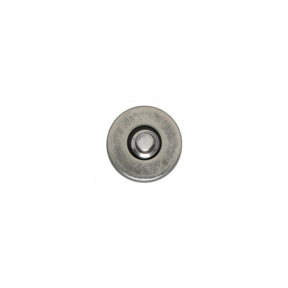 Deurbel rond verdekt ø49x7mm oud grijs