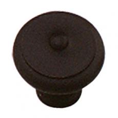 Meubelknop ø 30 mm smeedijzer zwart