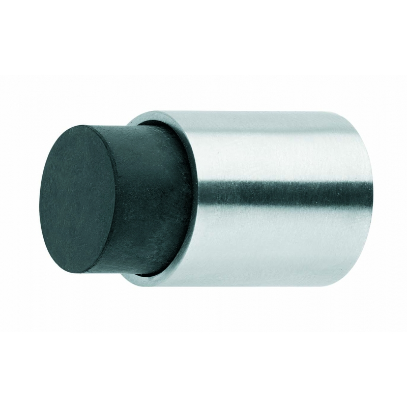 Geliefde Deurstop wandmontage 22x30mm kort RVS KI66