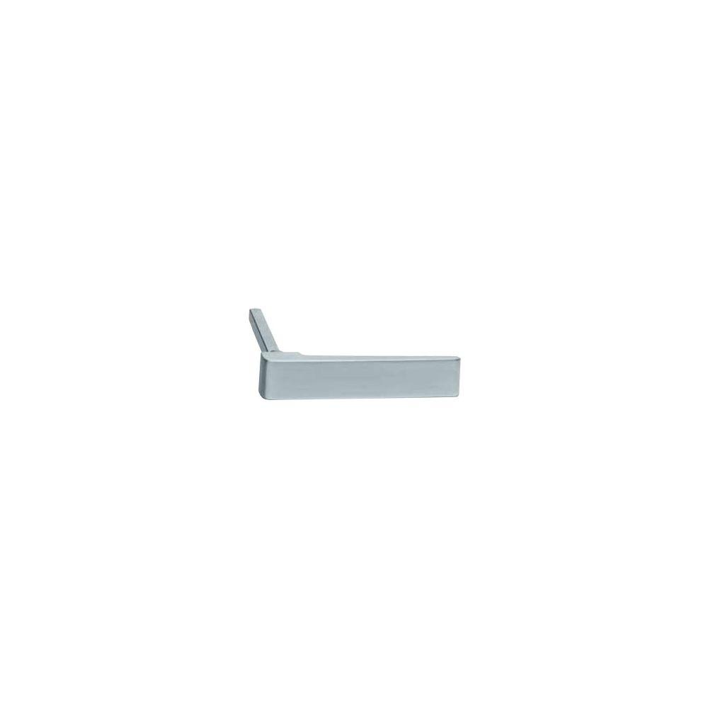 Stiftdeel L rolluik kruk plat met stift 70mm RVS