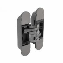 Deurscharnier onzichtbaar fiberglas – nikkel 130 x 30 mm