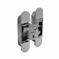 Deurscharnier onzichtbaar zamak – grijs 130 x 30 mm
