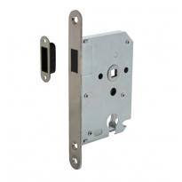 Intersteel magneet cilinder dag- en nachtslot met RVS voorplaat