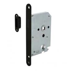 Intersteel magneet cilinder dag- en nachtslot met zwarte voorplaat