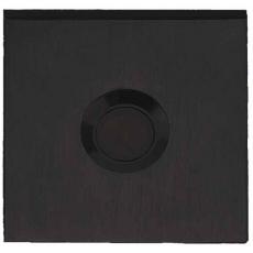 Formani Square beldrukker LSQ50 - mat zwart
