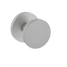 Voordeurknop Rond Ø55 mm éénzijdige montage aluminium
