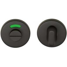 Formani BASIC LBWC50 WC-garnituur - 6mm dik - inclusief 8mm stift - mat zwart