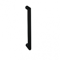 Handgreep recht zwart 20x200mm enkel