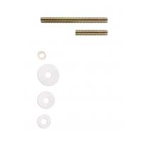 Bevestigingsset B doorgaand paarsgewijze montage voor hout/glas/pvc/alu