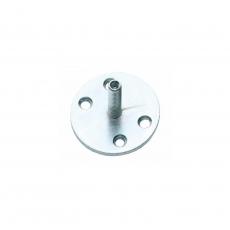 Metalen onderplaat met vaste M8 pin