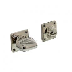 WC-sluiting Basic 8mm vierkant nikkel