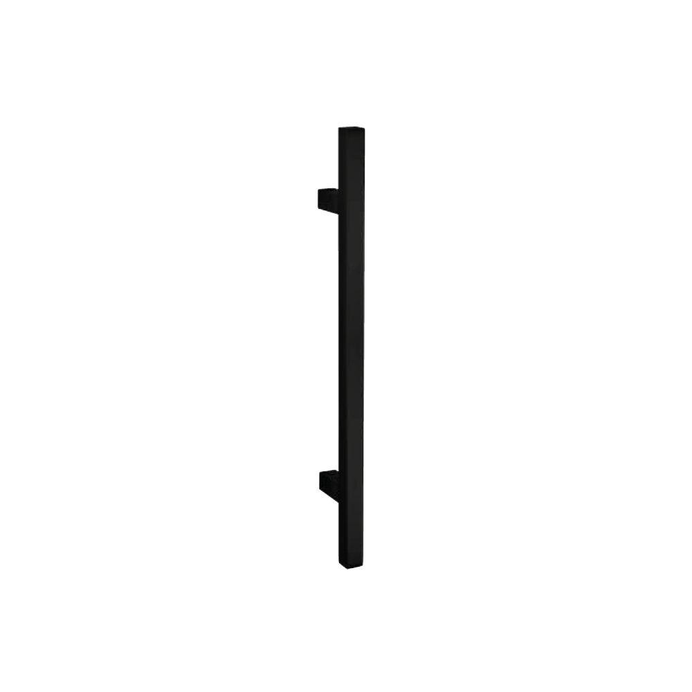 Handgreep T-model vierkant 25x800x960 mm mat zwart