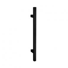 Handgreep T-model vierkant 25x1000x1160 mm mat zwart
