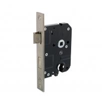 Veiligheidsslot profielcilindergat 55mm met rechthoekige voorplaat 25x174mm