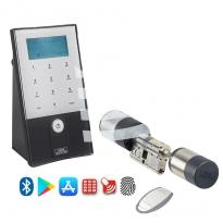 Burg-Wächter secuENTRY easy plus 5652 elektronisch slot - app en vingerafdruk