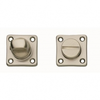 WC-sluiting 5mm vierkant nikkel mat