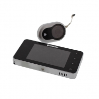 Digitale deurcamera DDV 2.2 met foto- en filmfunctie, trildetectie en belfunctie