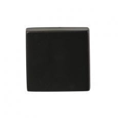 Blindrozet Zwart vierkant