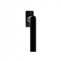 Raamkruk Toledo 22mm Zwart recht