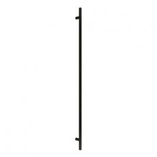 Handgreep T-model rond 40x1600x1900 mm mat zwart