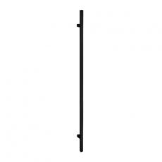 Handgreep T-model vierkant 25x1600x1900 mm mat zwart