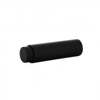 Deurstop wandmontage 22x80mm zwart