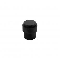 Deurstop vloermontage 30mm mat zwart