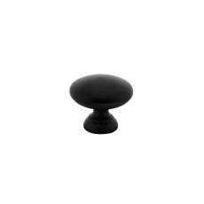 Meubelknop paddenstoel Ø40mm mat zwart