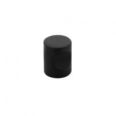 Knop vingergrip ø18mm RVS/mat zwart
