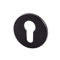 Cilinderrozet rond 5mm zwart