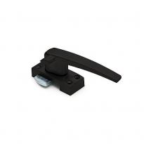 Raamsluiting rechts standaard met sluitplaat - mat zwart