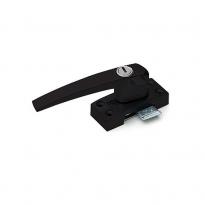 Raamsluiting SKG* links standaard met sluitplaat - mat zwart