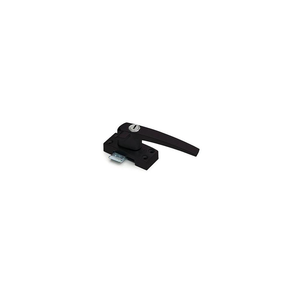 Raamsluiting SKG* rechts standaard met sluitplaat - mat zwart