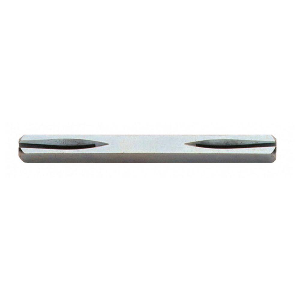 Deurkrukstift beide zijden zaagsnede 7x125mm