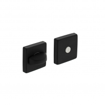 WC-sluiting 8mm vierkant 7mm nokken alu mat zwart