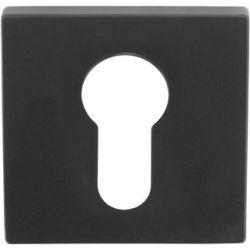 Formani Square cilinderrozet LSQBY50 - mat zwart