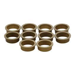 10 nylon ringen 20mm-18mm bruin