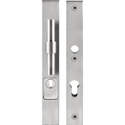 Piet Boon ONE PB20-28KT veiligheidsschilden met kerntrekbeveiliging knop/kruk SKG*** PC72 - mat RVS