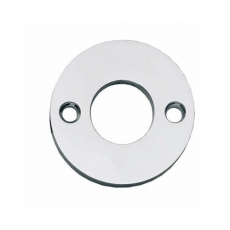 Rozet rond plat 42mm chroom