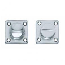 WC-sluiting 8mm vierkant chroom mat