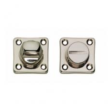WC-sluiting 8mm vierkant nikkel