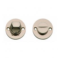 WC-sluiting 8mm rozet rond plat 42mm nikkel