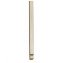 Stangenset tbv pomp-espagnolet 125cm nikkel