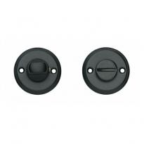 WC-sluiting 8mm schroefgat mat zwart