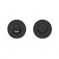 WC-sluiting 8mm rond verdekt mat zwart