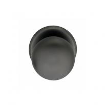Voordeurknop zwaar ø80/75mm antraciet titaan PVD