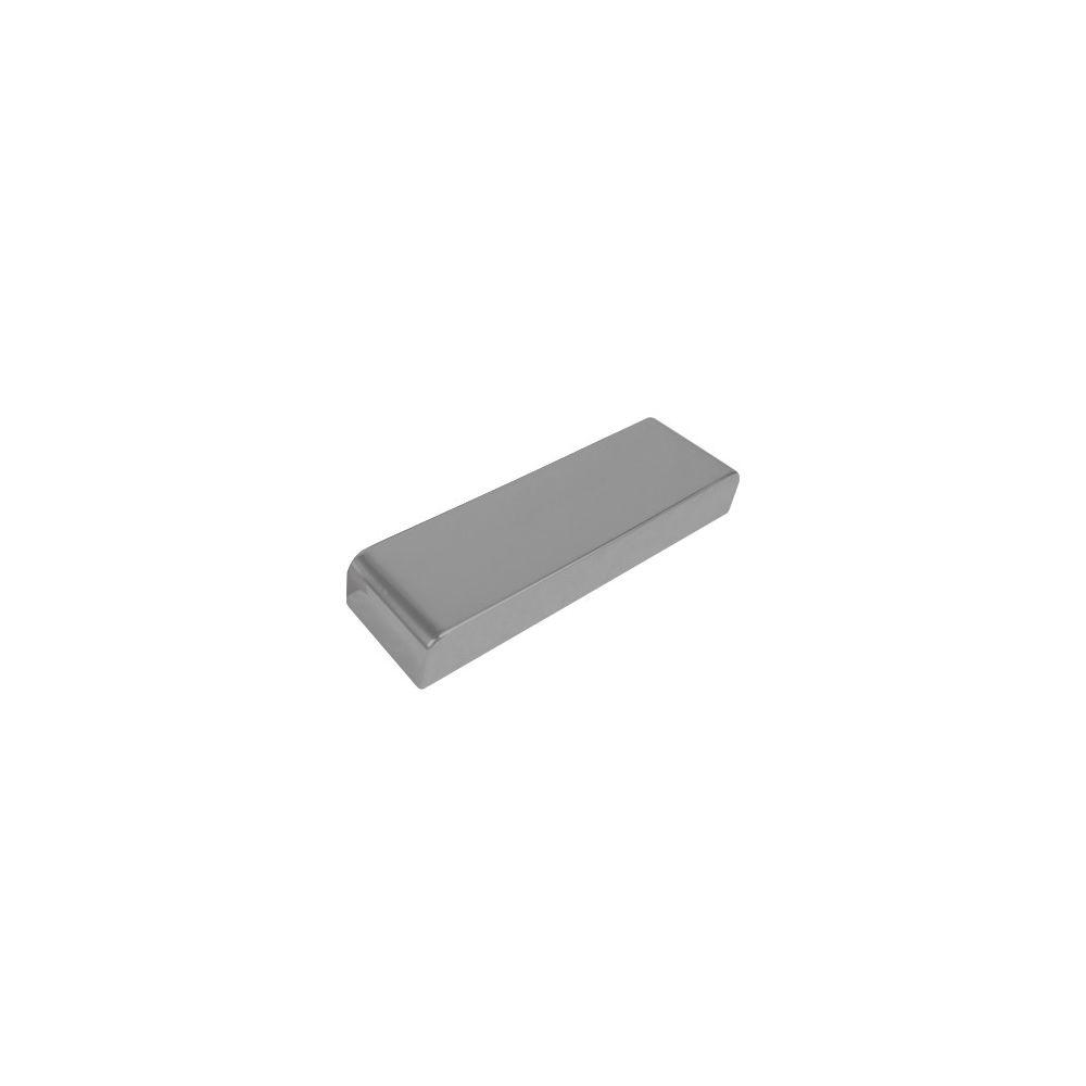 Afdekkap 188 tbv deurdrangers 275 x 62 staal grijs
