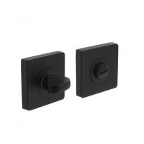 WC-sluiting 8mm vierkant 7mm nokken mat zwart